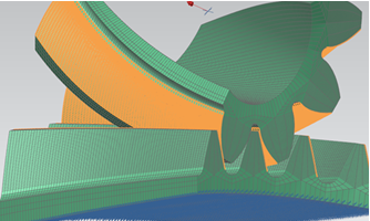 Simcenter 3D nonlinear analysis