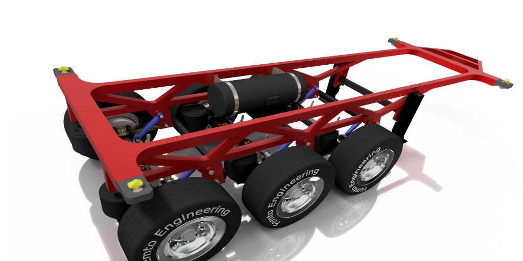 trailer chassis lightweighting